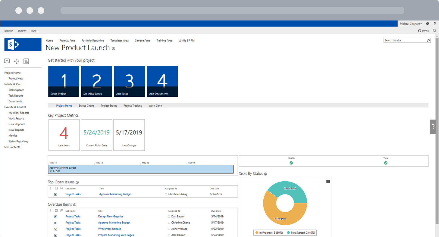 BrightWork Project Lite Template SharePoint